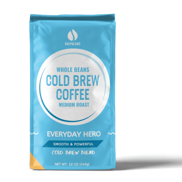 Everyday Hero Whole Beans Front Package