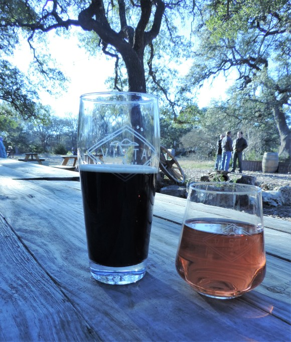 Dark Skies beer at Vista