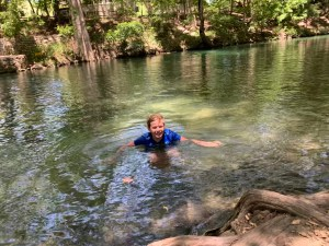 Dip in Cypress Creek between shopping and dining