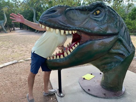 Dinosaur Park Bastrop, Texas