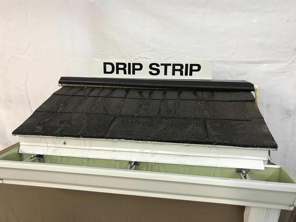 Seamless Gutter Gutter Protection Gutter DRIP STRIP.. Rain Gutter