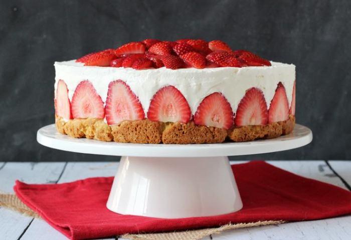 Strawberry Shortcake Cheesecake Driscolls