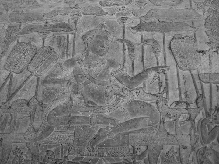 King Suryavarman II, the builder of Angkor Wat