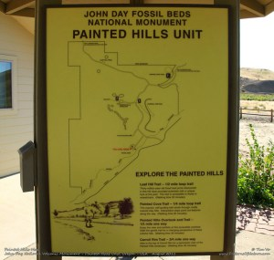 Painted Hills Map