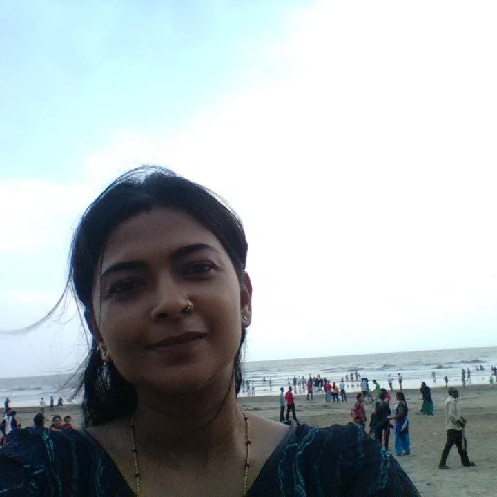 Me at Juhu beach... after ages