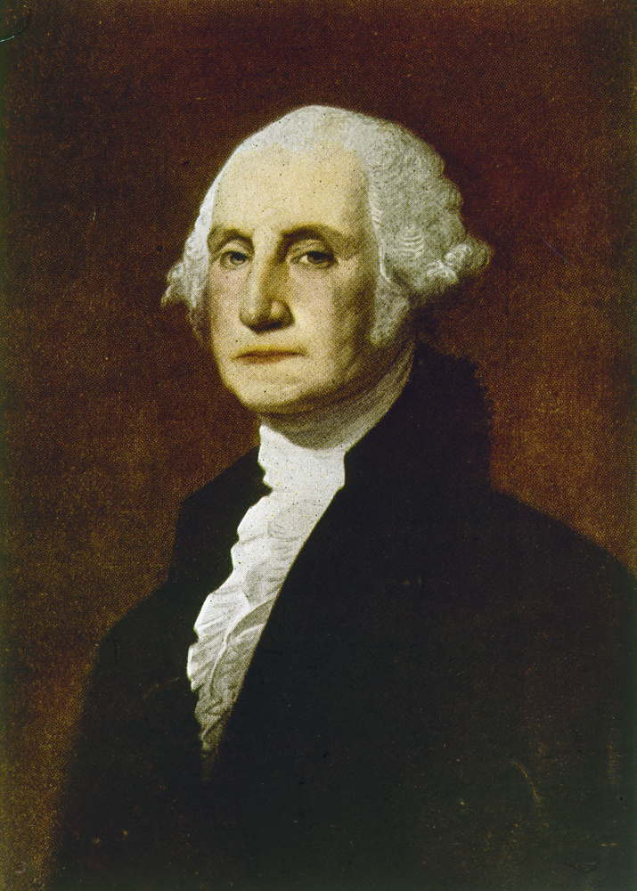George Washington wore Lipstick