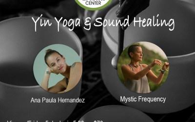 Yin Yoga & Sound Healing – June 5, 2020 5:30pm