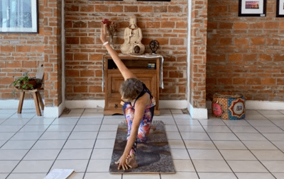 1hr Intermediate Hatha Yoga (English)