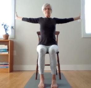 50min Chair Yoga (English)