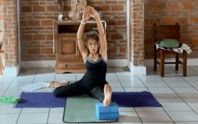 45min Intermediate Yoga (English)