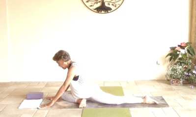 40min Intermediate Hatha Yoga – Pigeon Poses BEST OF 2020