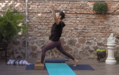 55min Hatha Yoga – focus on abs, buns and thighs