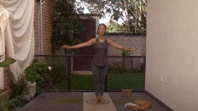 50min Standing, Balancing Pilates