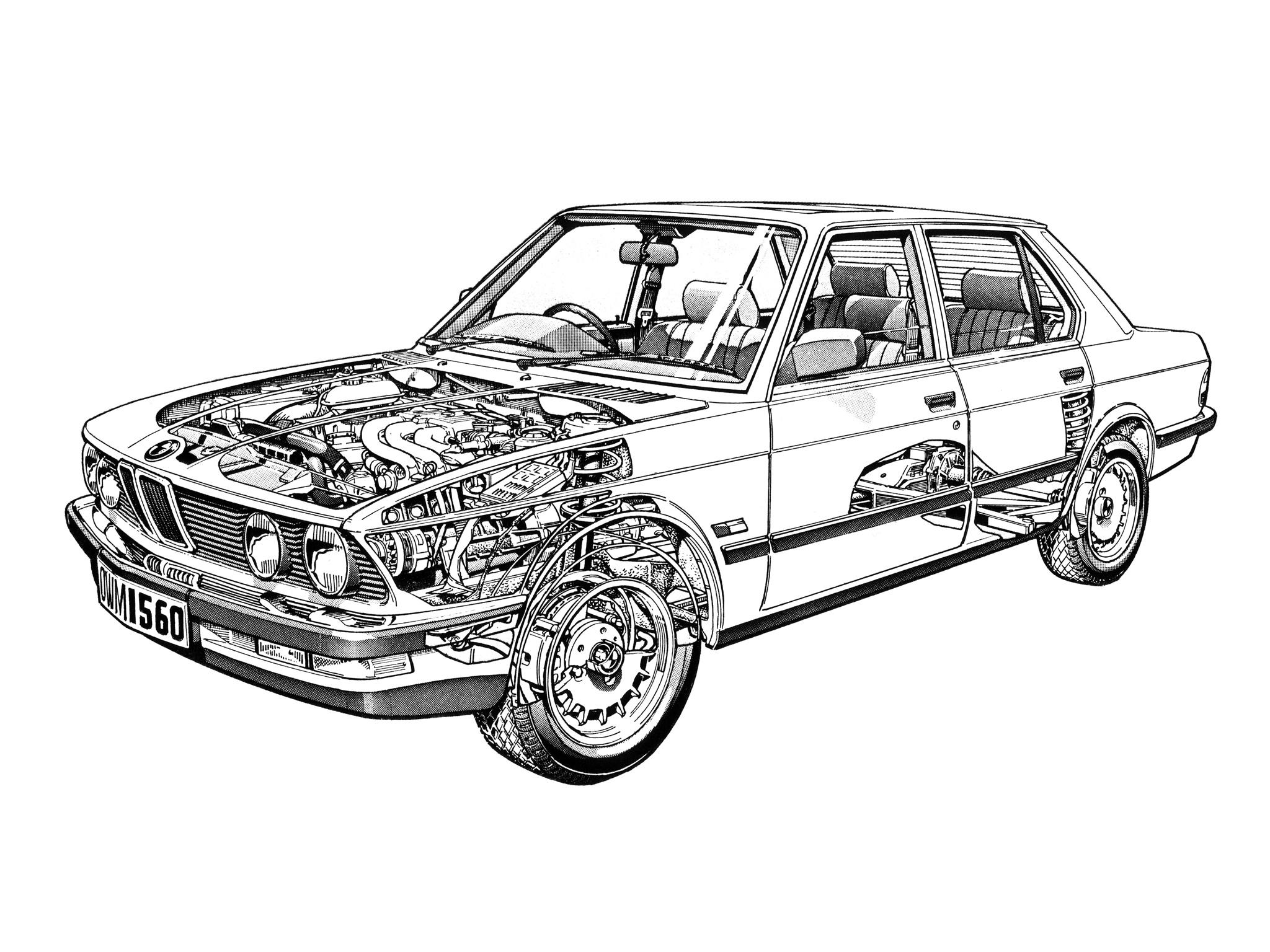 Group Test Audi 100cd C3 Vs Bmw 525e E28 And Ford Granada