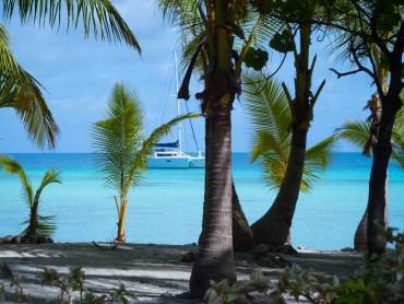 vacanza in catamarano in polinesia