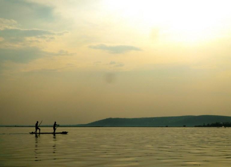 Mokoro sul Fiume Congo