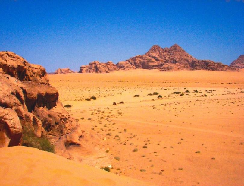 Wadi Rum; Giordania