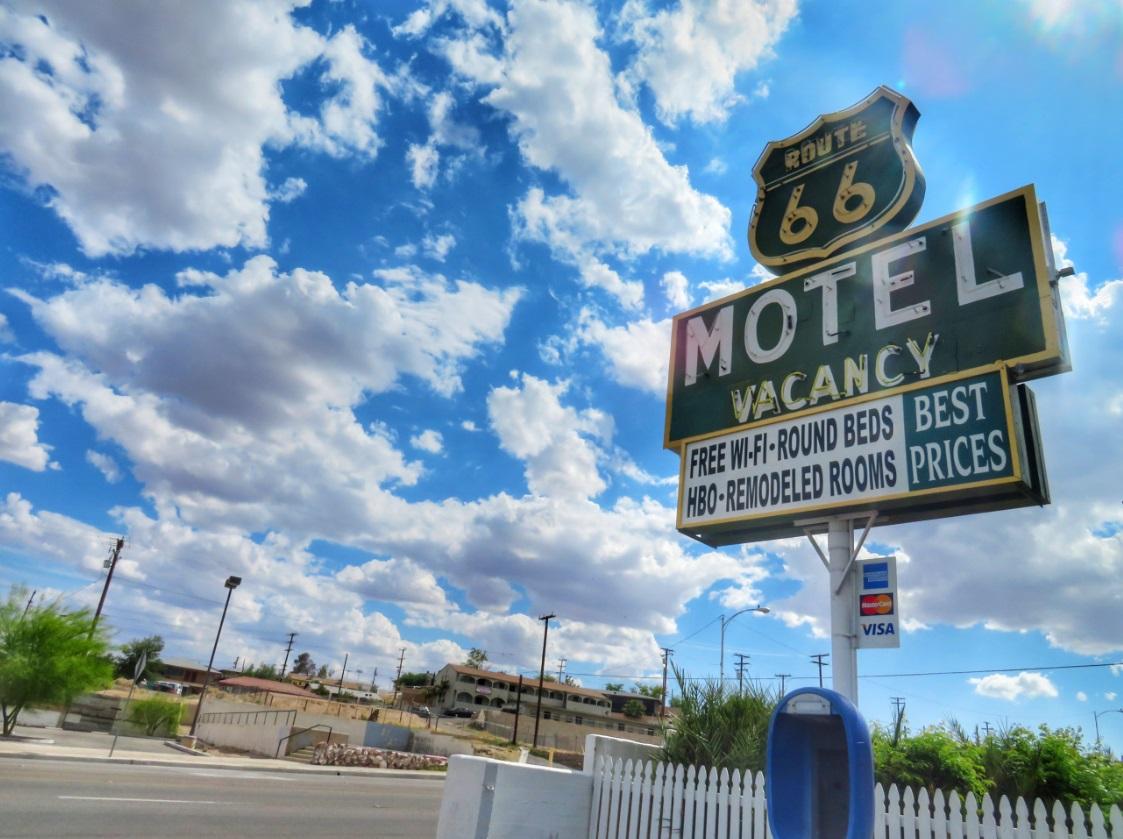 dormire nei motel storici della Route66