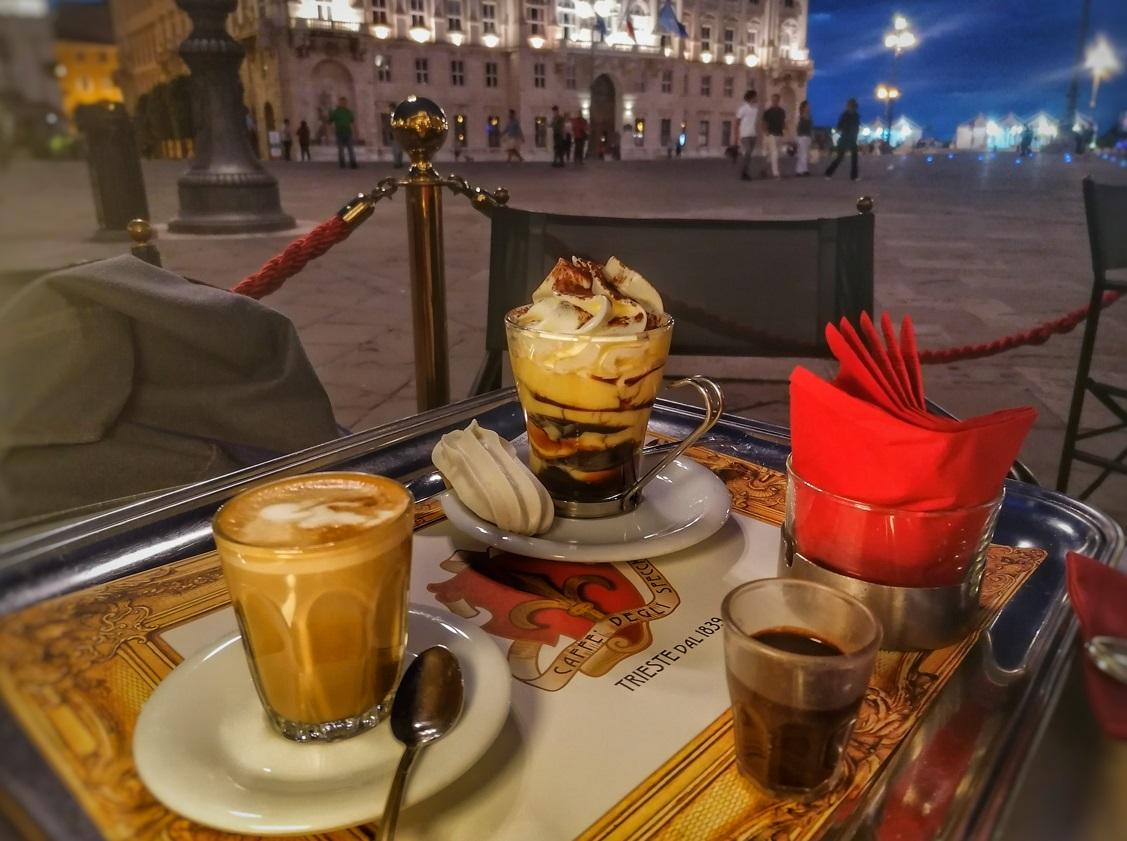 itinerario caffè storici trieste