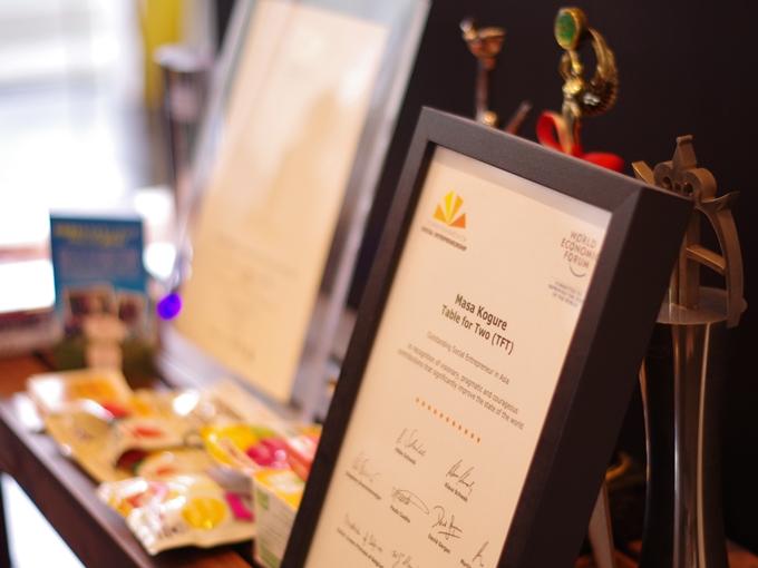 シュワブ財団 世界経済フォーラム「アジアを代表する社会起業家」賞