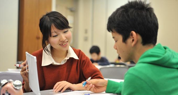 Teach For Japanの活動風景(JVPFのトップページより)