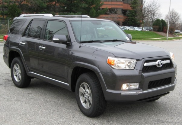 A 4runner. Not to be confused with the blindingly similar Toyota Soarer.