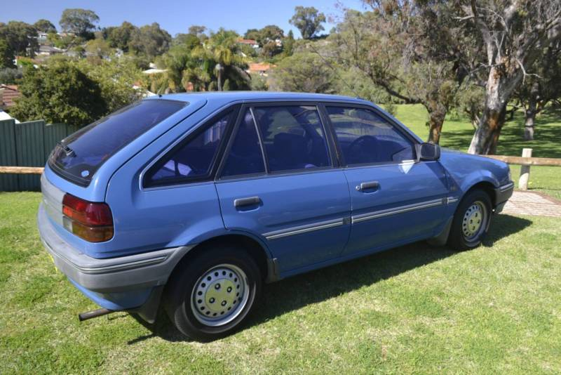 1989 Ford Laser Ghia
