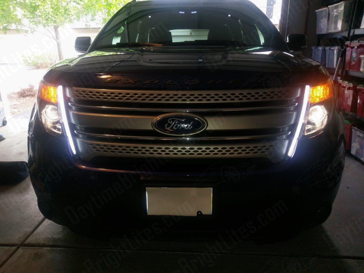 Turn Interior Lights Ford Explorer 2017