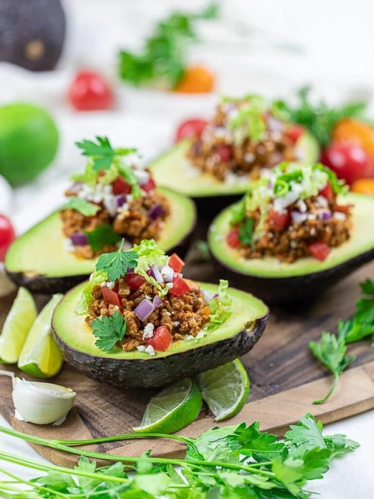Taco Stuffed Avocado Boats