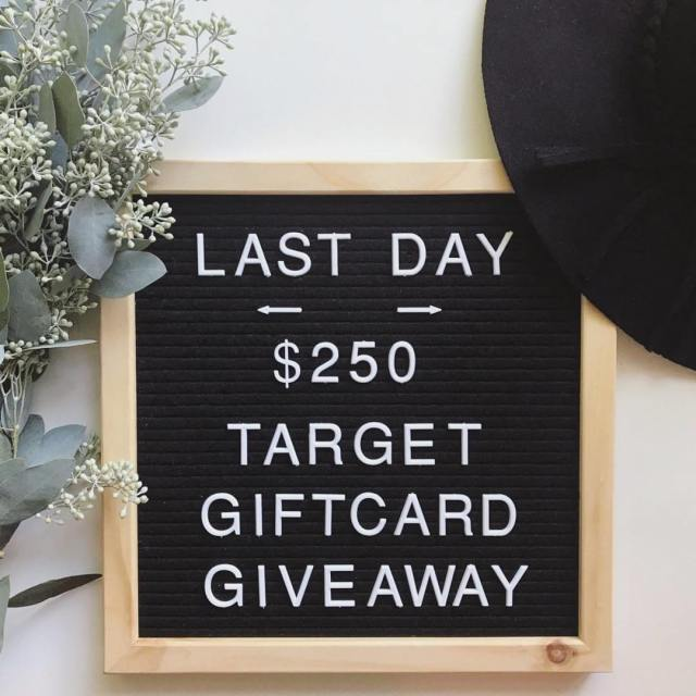 Have you entered to WIN this 250 Target giftcard? Donthellip