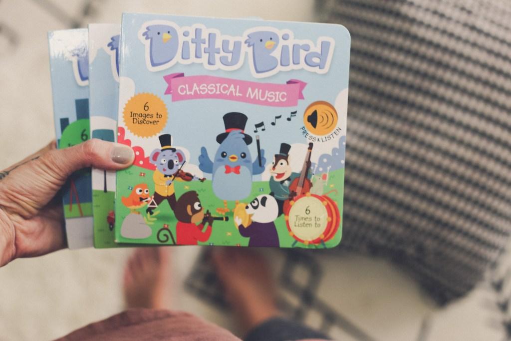 children's books that play music