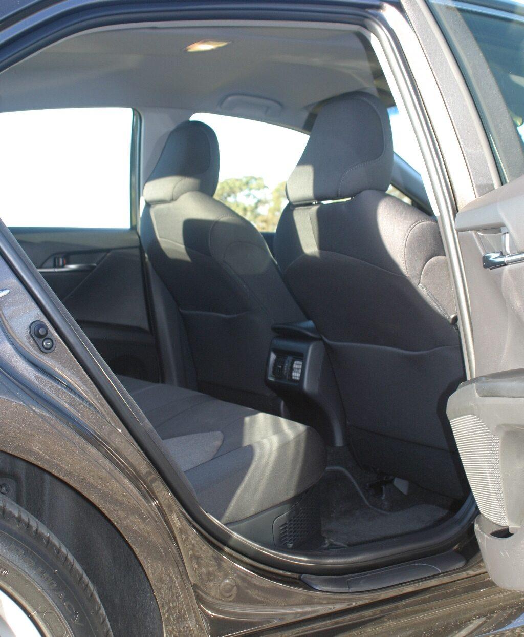 Toyota Camry Ascent Hybrid Rear legroom