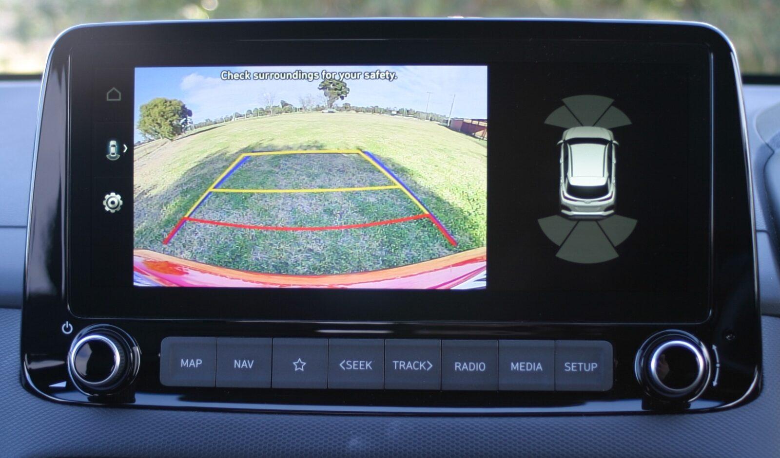 Hyundai Kona N Line Premium rear view camera