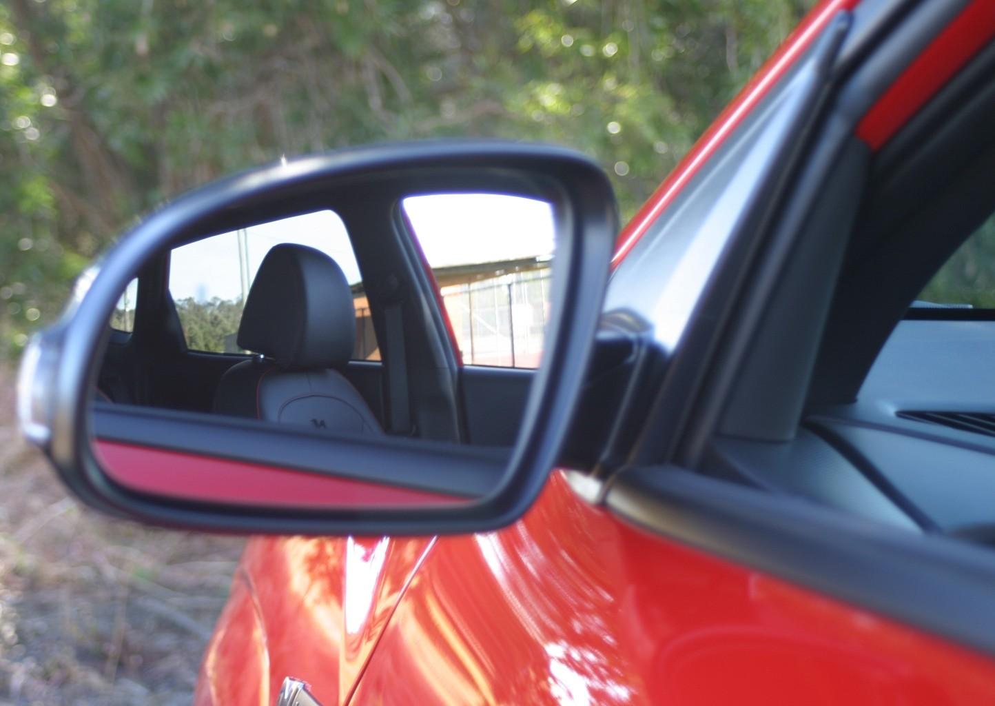 Hyundai Kona N Line Premium rear view mittor