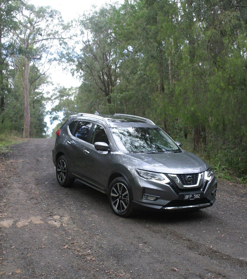 Nissan X-Trail Ti on a Dirt Road