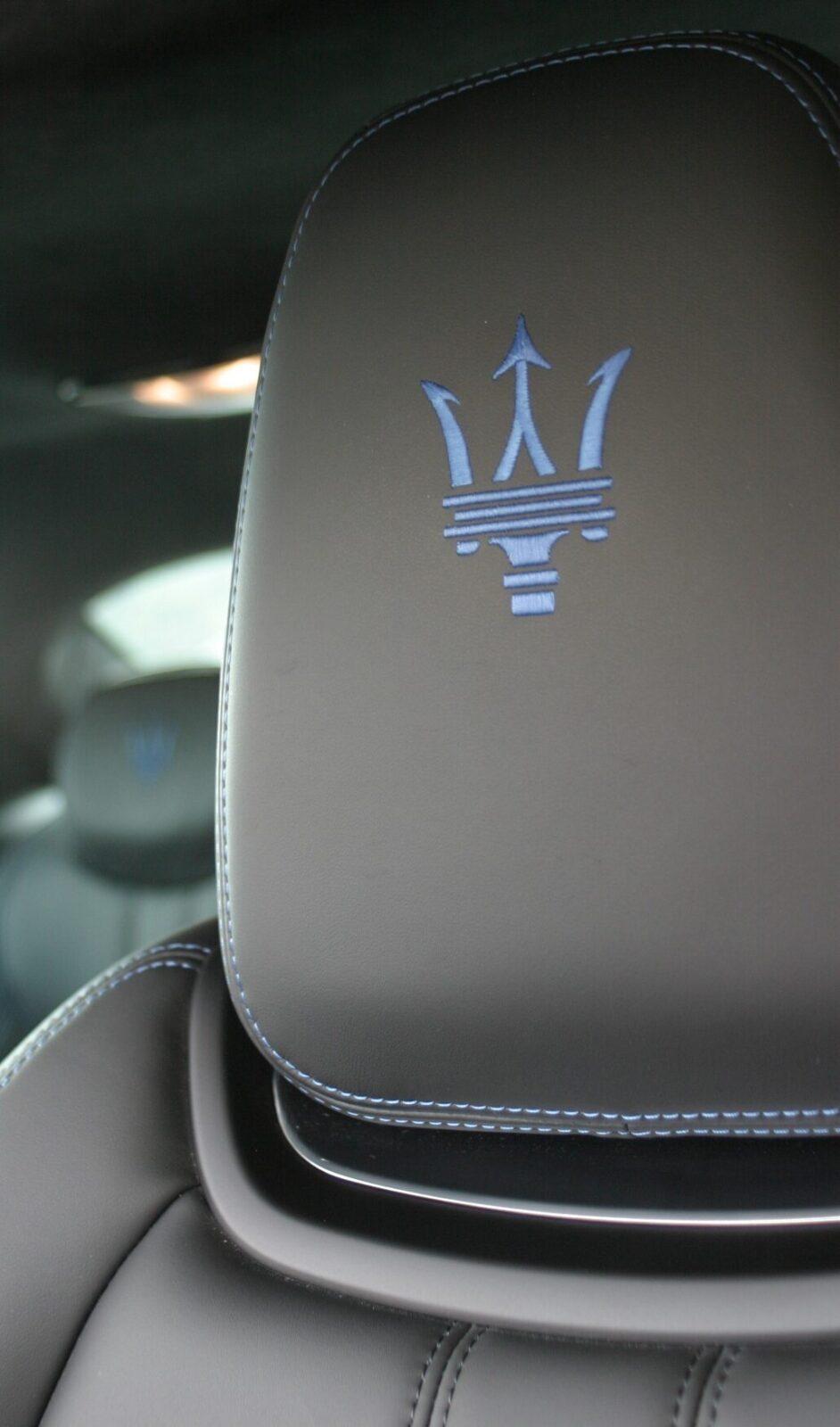 Maserati Ghibli Hybrid front seat head rest