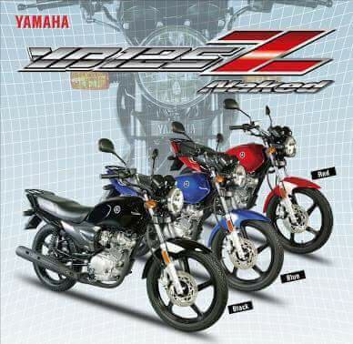 Image result for yamaha 125 2017 in pakistan