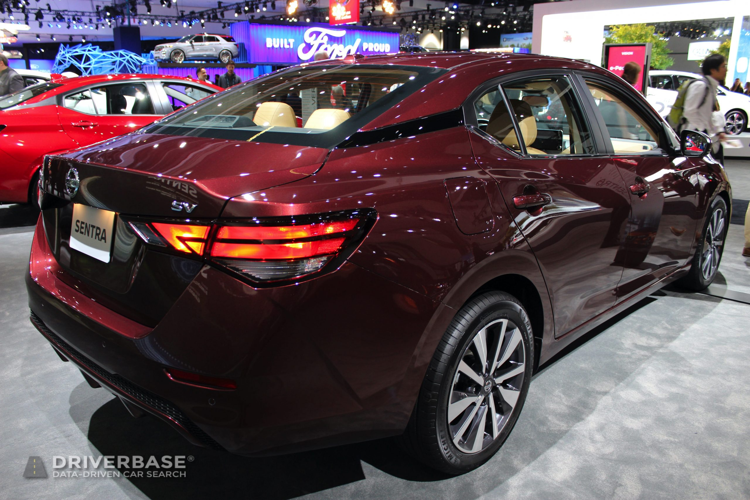 2020 Nissan Sentra Sv At The 2019 Los Angeles Auto Show Driverbase