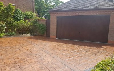 Pattern Concrete Repair – Solihull, Birmingham