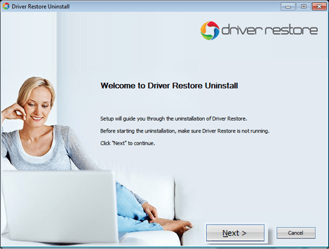 Driver Restore Uninstallation guide