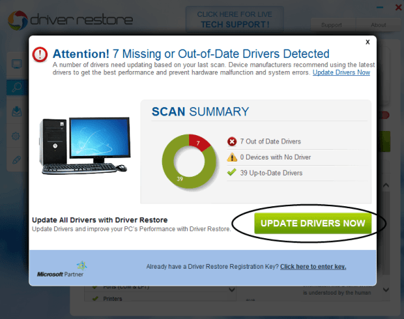 scan drivers