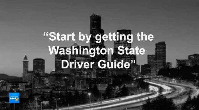 Get the Washington State Driver Guide - Cover photo