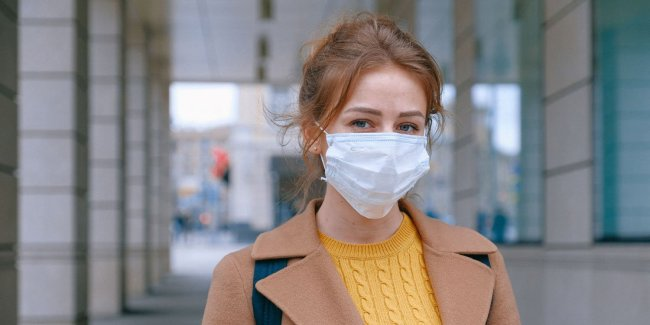 Woman wearing face mask - Photo by Anna Shvets
