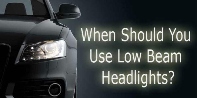 Use low beam headlights  - Illustration copyright: whilerests
