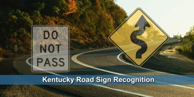 Kentucky road sign test - Photo by Athena
