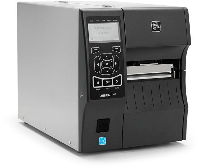 Các tính năng được hỗ trợ Zebra ZT410 (203 dpi)