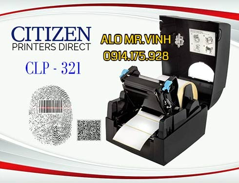 Máy in tem Citizen CLS321, máy in zebra giá rẻ, máy in honeywell giá rẻ,