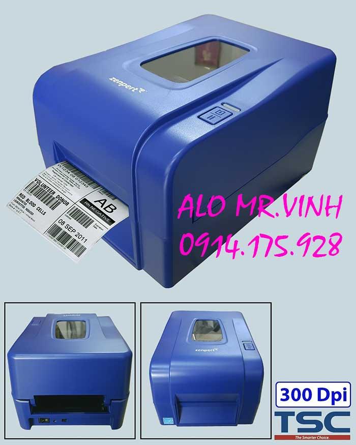 Máy in mã vạch TSC Zenpert 4T300 , máy in mã vạch tsc, máy in tem nhãn tsc