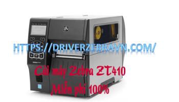 Mua và cài đặt máy in Zebra ZT410 giá rẻ. Miễn phí