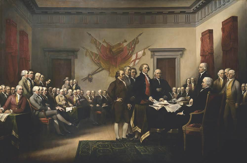 """Declaration of Independence,"" John Trumbull (1826)"
